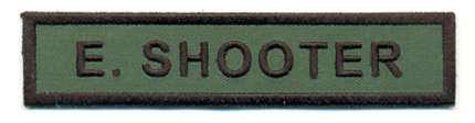 paintball gotcha name tag namensschild