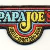 Aufnaeher Papa Joe\'s