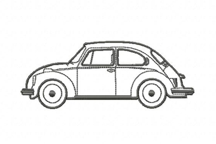 Stickmuster Beetle Vw Kafer Coccinelle on vw beetle service