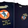 Kompanie Shirt Stick und Siebdruck