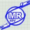 MR Logo gepuncht