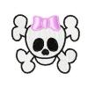 Stickmuster Girly Totenkopf skull 4,80 EURO