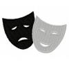 Stickmuster Stickdatei Theater Masken 4,80 EURO