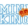 Stickmuster Stickdatei Mini King 6.- EURO