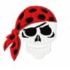 Stickmuster Stickdatei Pirat Totenkopf 4,80 EURO