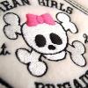 Stickmuster Stickdatei Girly Totenkopf skull