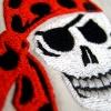 Stickmuster Stickdatei Piratenkopf skull Totenkopf