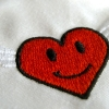 Stickmuster Stickdatei winged heart