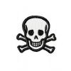 Stickmuster Stickdatei skull Totenkopf klein 3,60 EURO