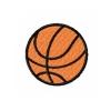 Stickmuster Stickdatei Basketball 2,40 EURO