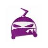 Stickmuster Stickdatei boeser Ninja-Helm 3,60 EURO