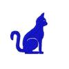 Stickmuster Stickdatei Katze Silhouette 2,40 EURO