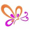 Stickmuster Stickdatei fantasy Schmetterling 3,60 EURO