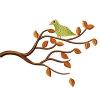 Stickmuster Stickdatei Vogel auf Ast 4,80 EURO